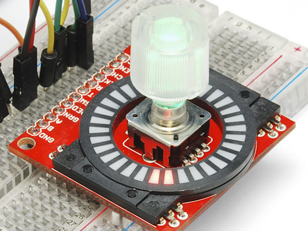 Sparkfun COM-10597 - 15 mm Transparent Control Knob