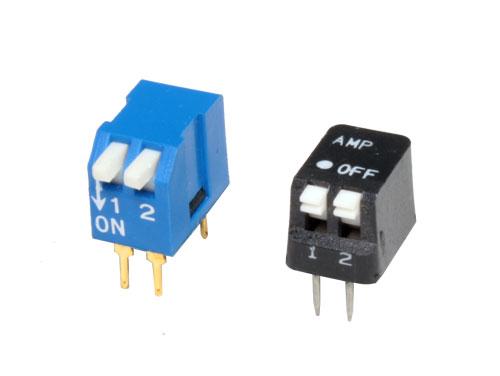 Interruptor DIP Vertical 2 Posiciones