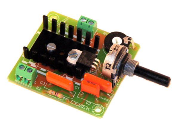Cebek - Kit Regulador de Velocidad Motor CA 375 W - R-8