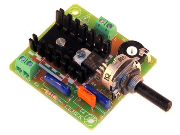 Cebek - Kit Regulador de Velocidad Motor CA 750 W - R-9