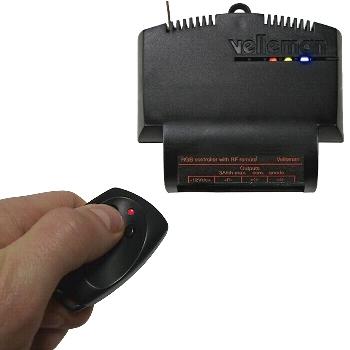 MODULO CONTROLADOR RGB CON MANDO A DISTANCIA RF - MONTADO - VM151