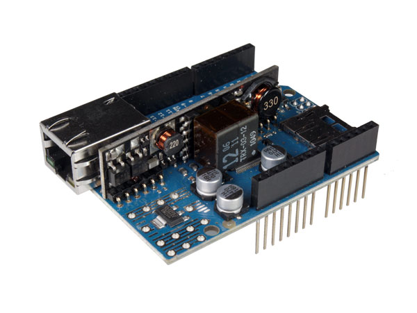 MÓDULO ARDUINO ETHERNET SHIELD SD COM PoE