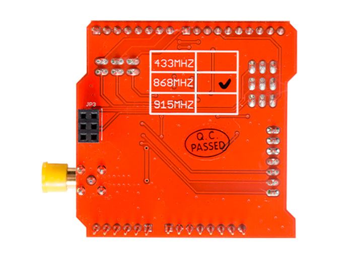 Dragino LoRa Shield - 868 MHz