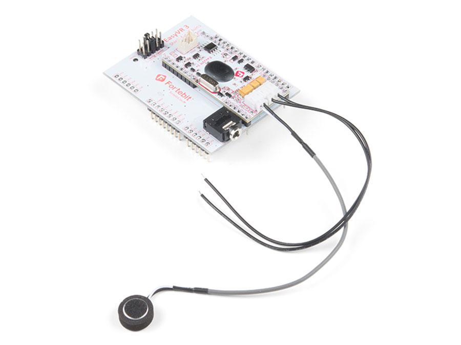 Arduino EasyVR SHIELD 2.0 - reconnaissance Vocale - COM-13316