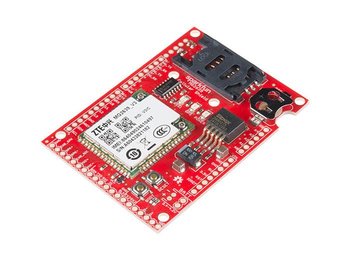 MODULO ARDUINO GSM CELLULAR SHIELD CON MG2639