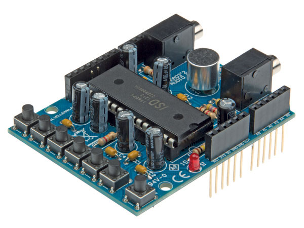 MODULO ARDUINO AUDIO SHIELD VELLEMAN - KA02