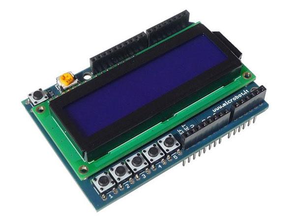 MÓDULO ARDUINO LCD 16X2 SHIELD