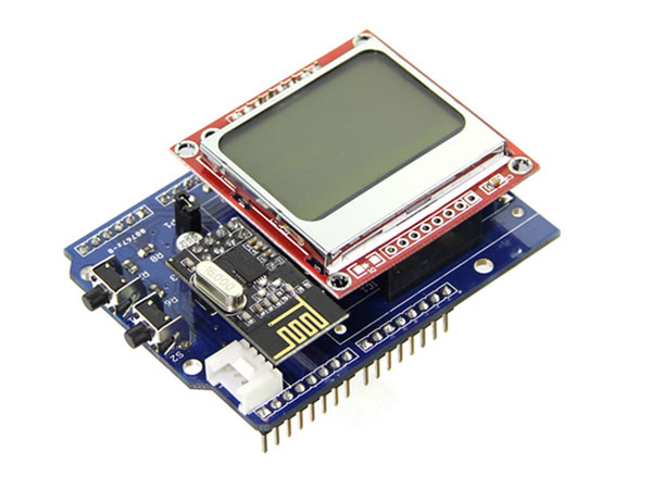 ARDUINO MONITOR ENERGIA SHIELD