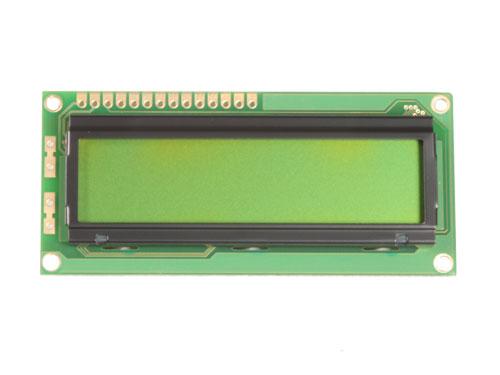 MODULO LCD ALFANUMERICO 16X2 SIN BACKLIGHT