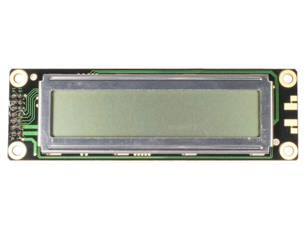 MODULO LCD ALFANUMERICO 20X2 SIN BACKLIGHT