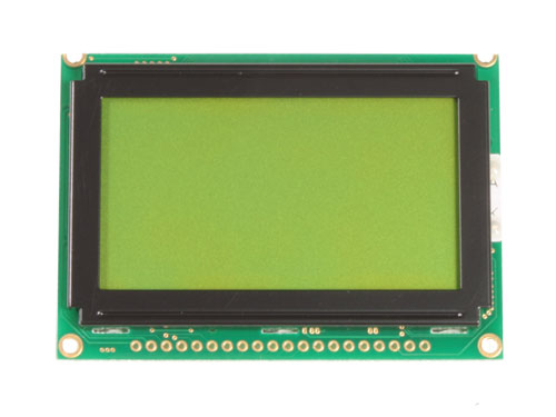 MODULO LCD GRAFICO 128X64 CON BACKLIGHT