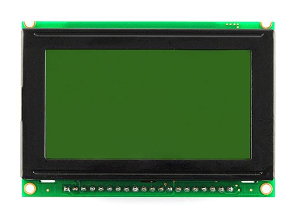 MODULO LCD SERIE GRAFICO 128X64 CON BACKLIGHT
