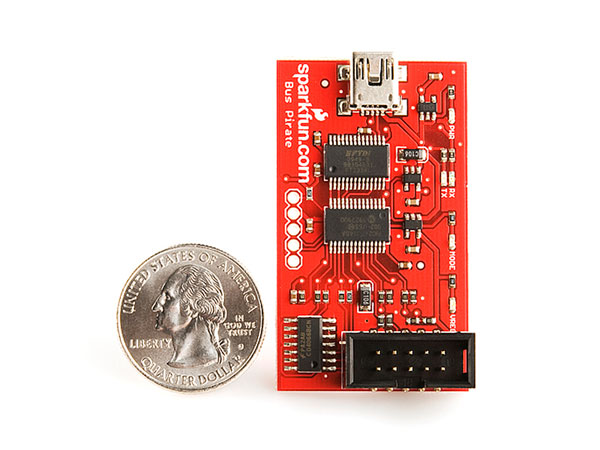 Sparkfun Bus Pirate v3.6a - Connection Module between a PC and any Embedded Device - TOL-12942
