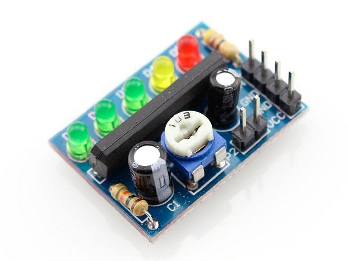 KA2284 - Vúmetro 5 LEDs