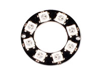 WS2812 x 8 -Ring LED Display Module - WS2812 5050 RGB - 1643
