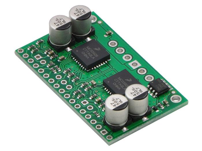 Pololu DUAL MC33926 - Controlador 2 Motores de Contínua - 3 A - 1213