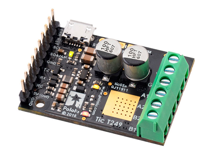 POLOLU - Tic T249 USB - Controlador de motor de passo multi-interface