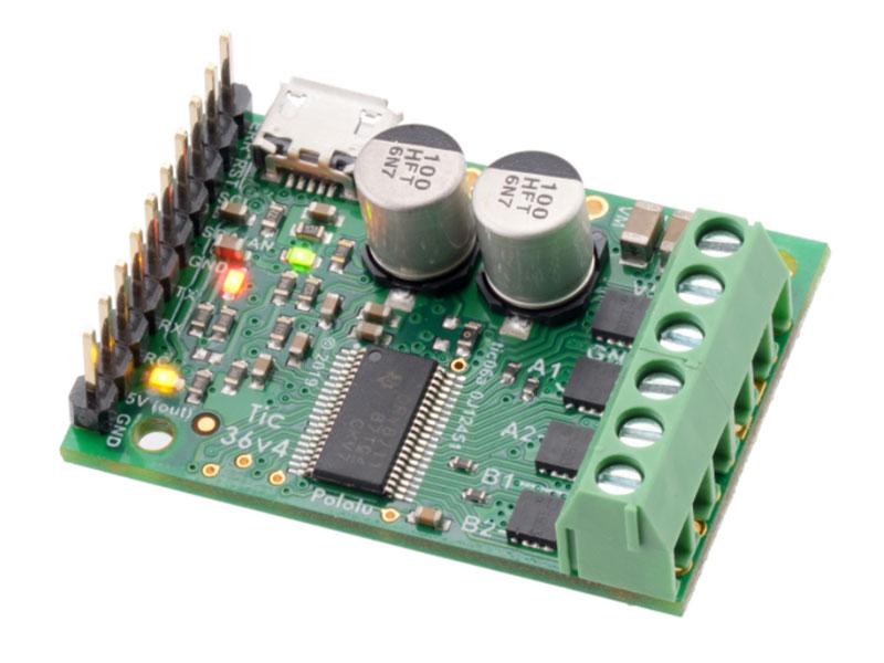 Pololu Tic T249 USB - Controlador de Motor de Passo com Várias Entradas - Tic 36v4 - 3141