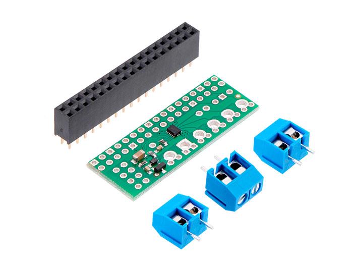 Pololu DUAL DRV8825 - Controlador 2 Motores DC para Raspberry Pi - 2753