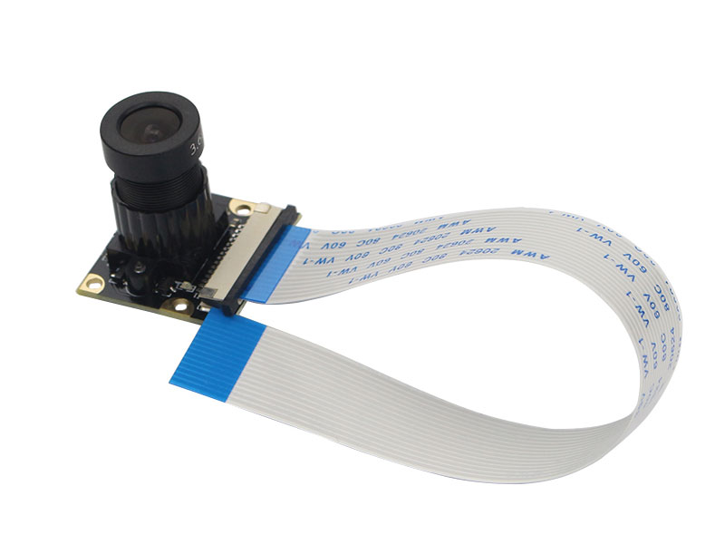5 MPX HD camera for RASPBERRY PI - supports night vision - with focus objetive