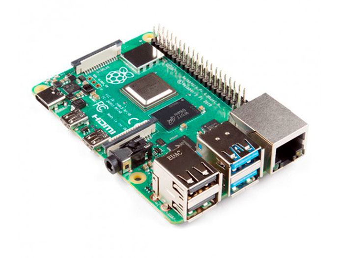 Raspberry Pi Model B 4 GB WiFi BLE - Carte d'Ordinateur