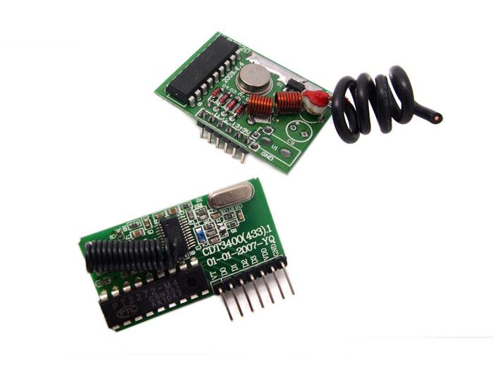 Seeed Technology Módulo Rf Emisor Y Receptor 433 Mhz 2 Km Con Codificador Y Decodificador 113990018