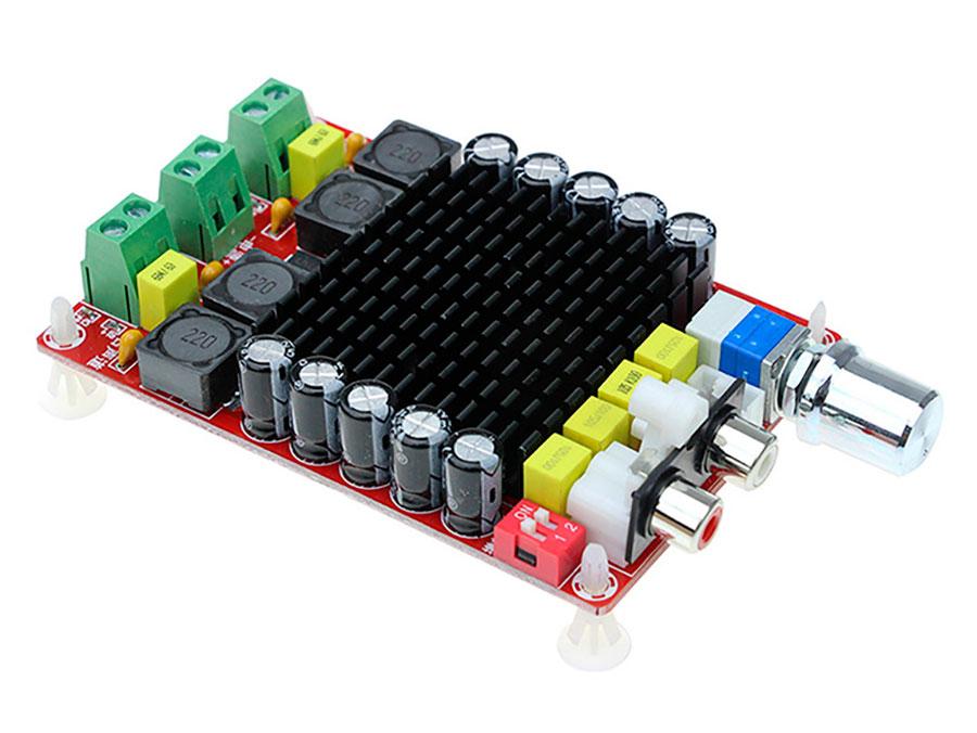 Módulo Amplificador Audio TDA7498 - 2 x 100 W