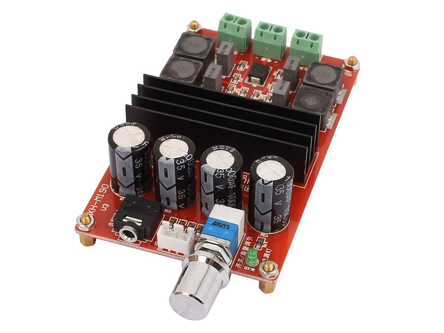 Módulo Amplificador Audio TPA3116 - 2 x 100W
