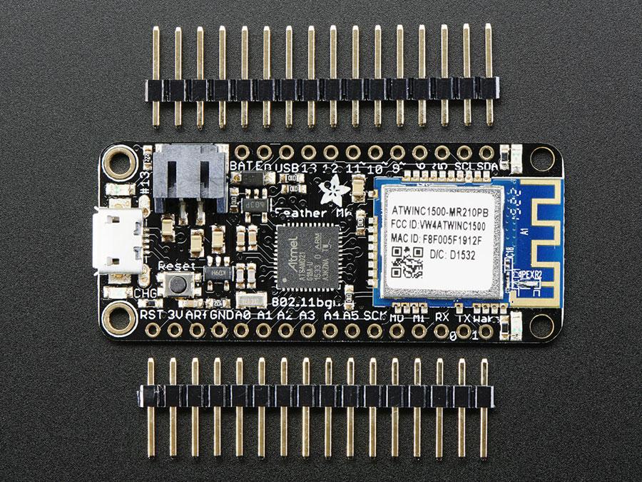 Adafruit Feather - M0 WiFi - ATSAMD21 + ATWINC1500 - 3010