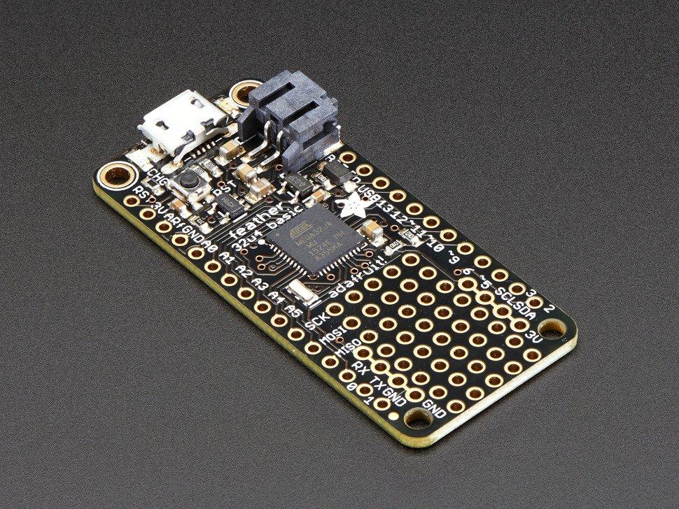 Adafruit Feather - 32u4 Basic Proto - 2771