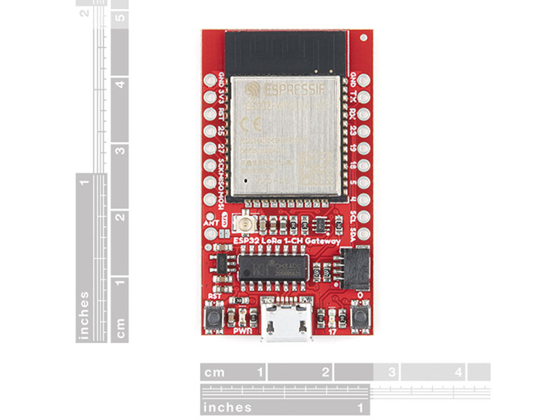 Sparkfun LoRa Gateway - 1-Channel (ESP32) - WRL-17506