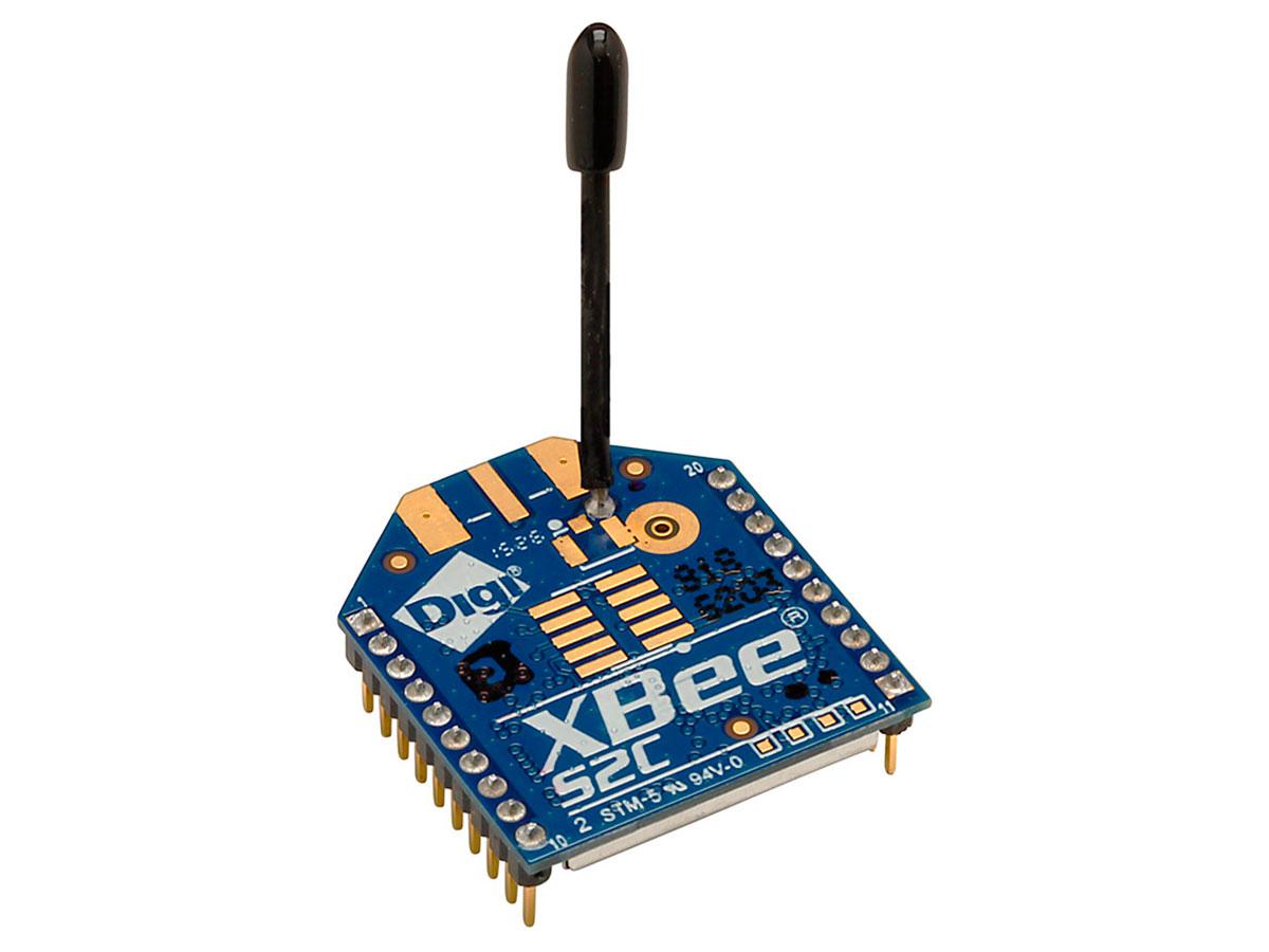 XBee 2mW con Antena Serie 2