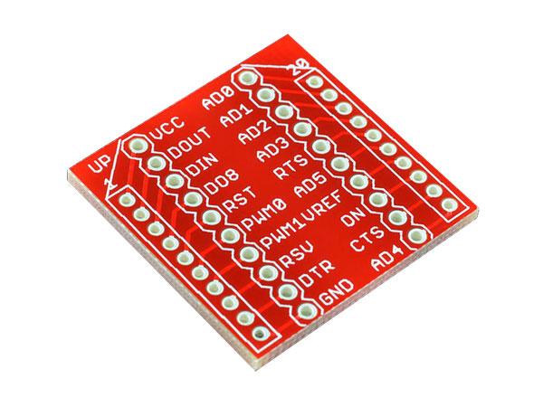 Placa adaptador modulos Xbee