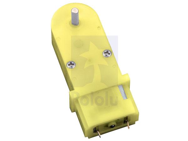 Motor Miniatura Pequeña Potencia con Reductora 3 .. 6 V - 180:1 - 1593