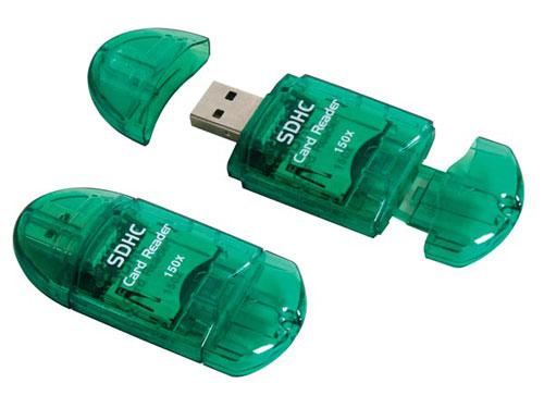 Leitor de cartões SD USB 2.0
