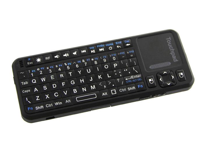 Teclado com mouse touchpad - sem fio- recarregável