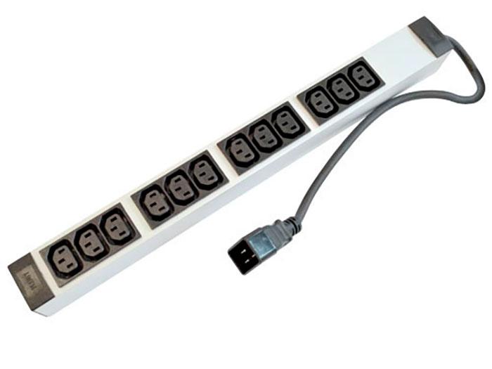 Plenty PLA435-12C13-C20 - Base Rede 12 Tomadas IEC 60320 C13 e Entrada IEC 60320 C20 - PDU - RN3028