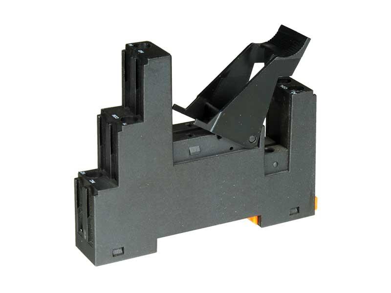 Relequick SFB20C00T0000 GRIS - Base para Calha DIN Relé 2 Circuitos
