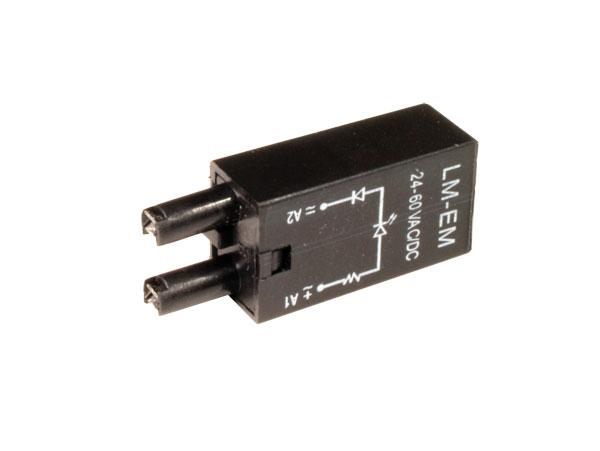 MÓDULO RELEQUICK M62LM-EM LED VERDE - 24..60 VDC/VAC