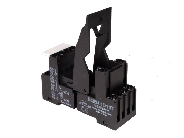 Relequick SQB41D10T - Base de Relé 4 Circuitos - Schrack YPT78740