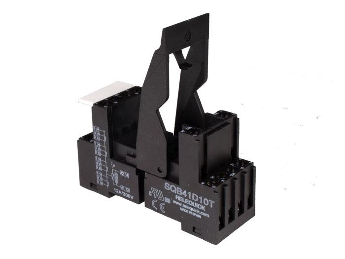 Relequick SQB41D10T - Base Relais 4 Circuits - SQB41D10T