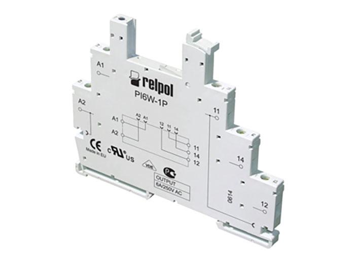 Relpol PI6W-1P - Base Relé 1 Circuito