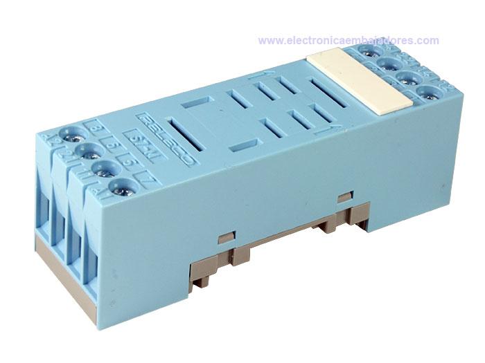 Releco S7-M - Base de Relé 2 Circuitos para Releco QRC