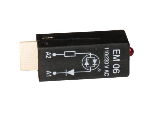 MODULO PTML0730 LED ROJO - 110..230 Vac