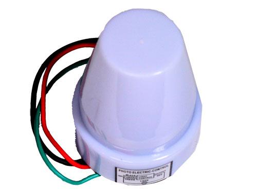 Interruptor Crepuscular - Relé Fotoeléctrico 2200 W - 11.592