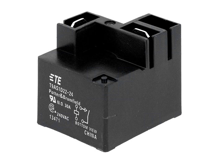 TE Connectivity T9AS1D22-24 - Relé de Potência 24 Vcc SPST 1 NA 30 A - TE 2-1419104-1
