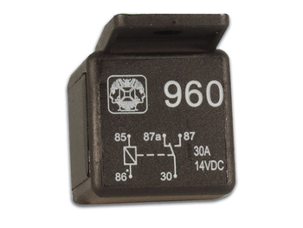 General Purpose Relay 12 Vdc SPDT 1 CO 30 A - 960