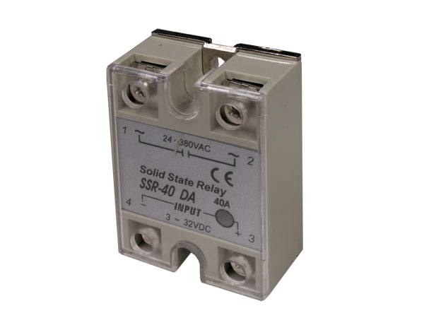 Single-Phase Solid State Relay 40 A - 24 .. 380 Vac - Activated by Direct Current