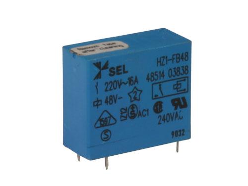 Hongfa HF115F048-1ZS1B - Relais Conventionnel 48 Vcc SPDT 1 NO 16 A