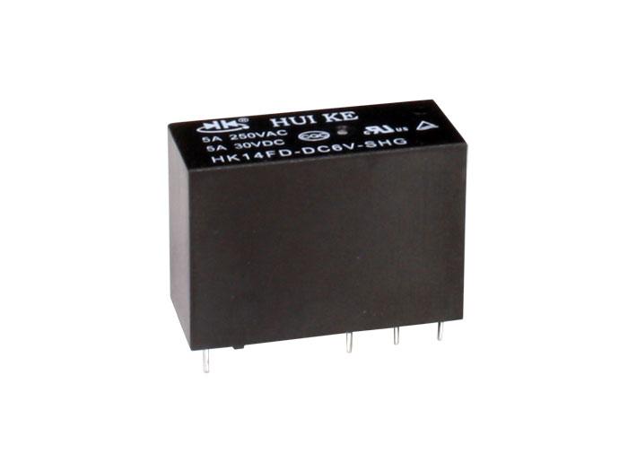 Hongfa HF115F006-2ZS4B - Relé Convencional 12 Vcc DPDT 2 CO 8 A